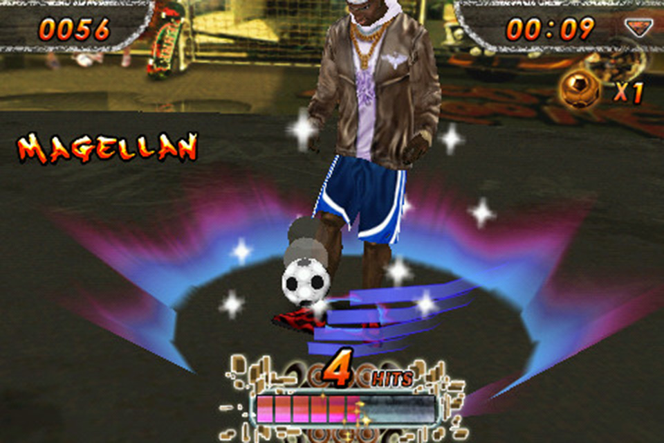 Screenshot iSoccer Backstreet
