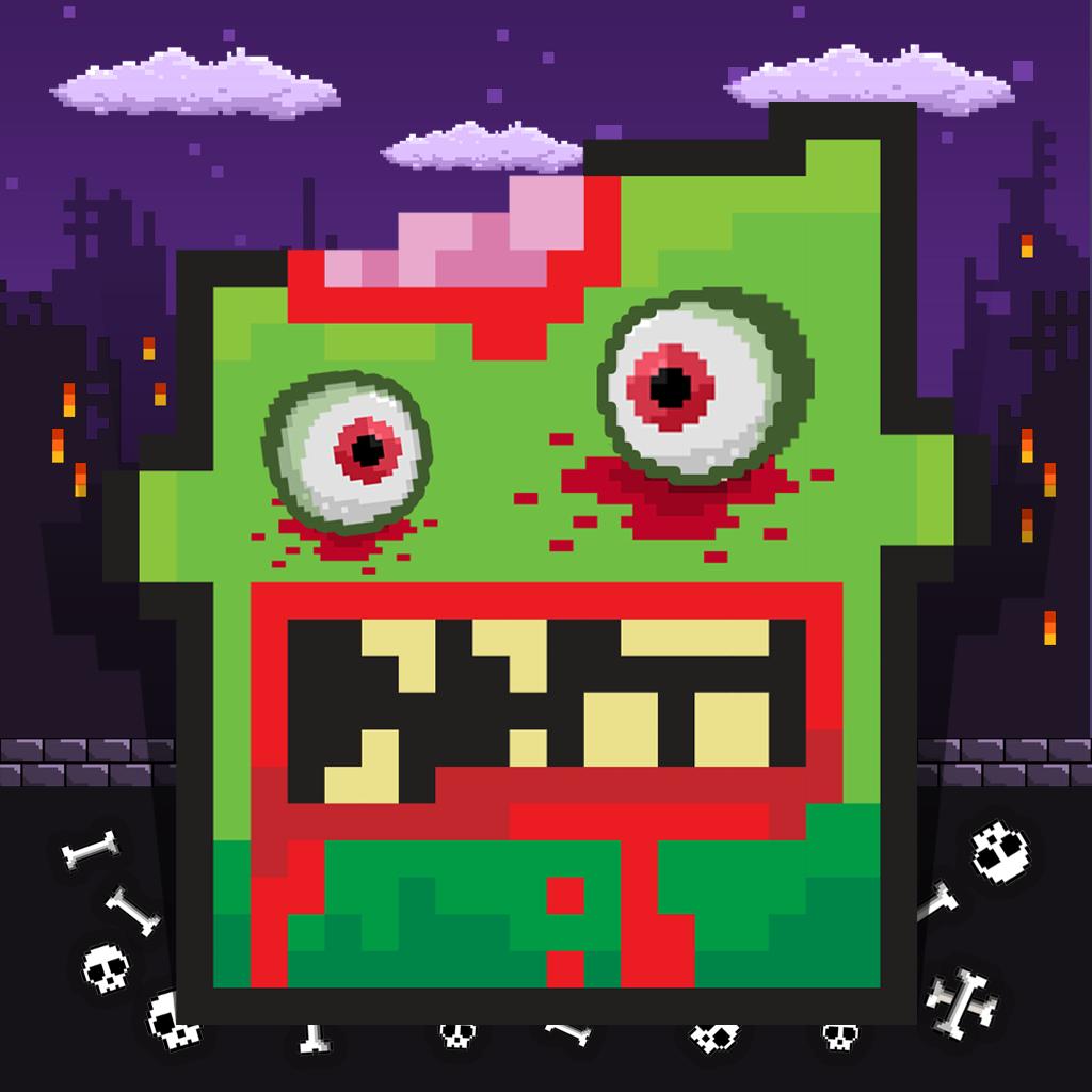 Flappy Zombie Head
